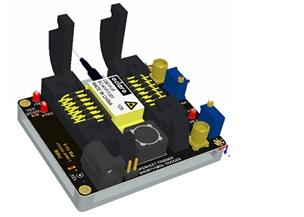 窄脉冲蝶形激光驱动器